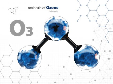 Molecula Ozon